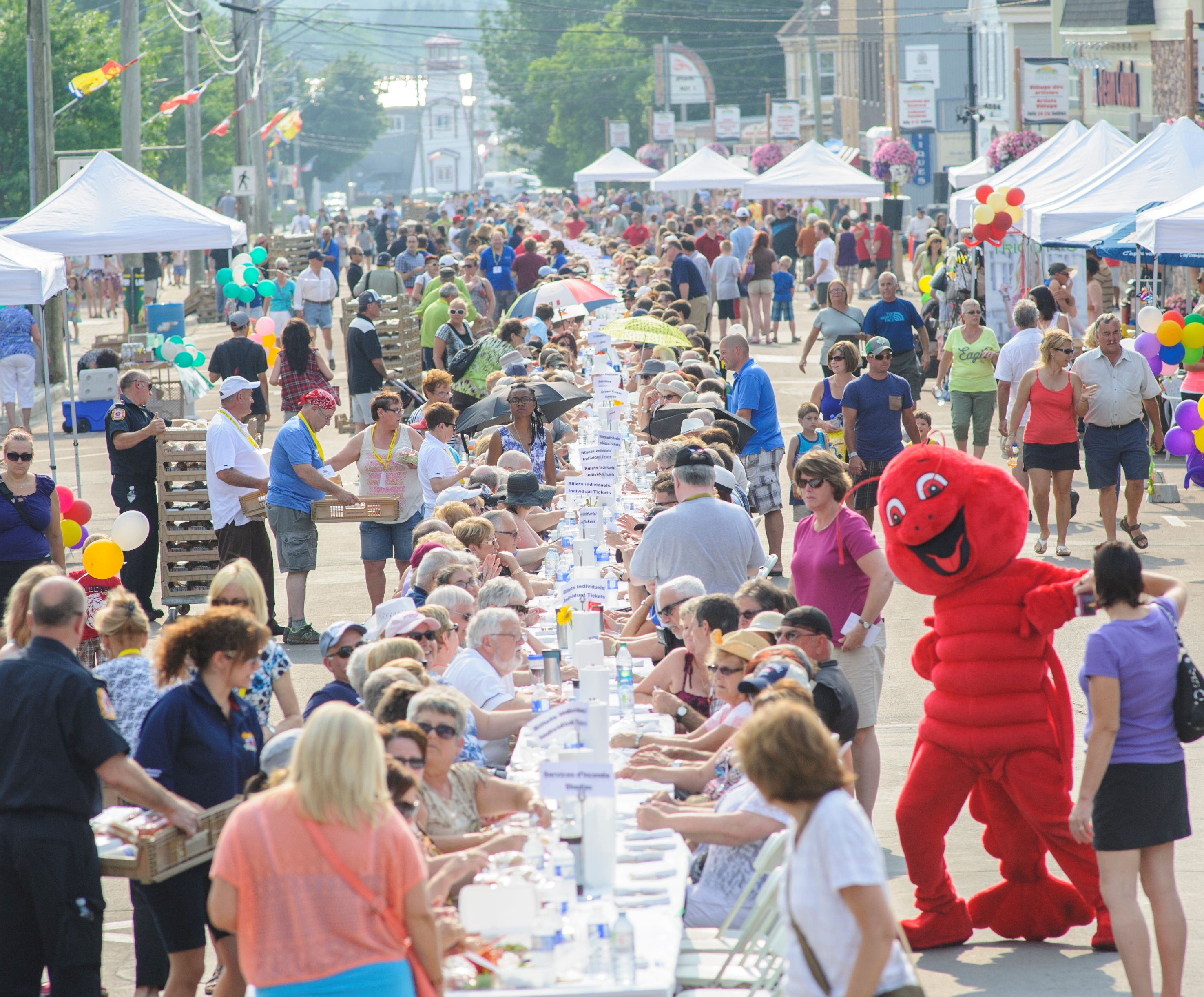 Longest Lobster Supper on Main Street